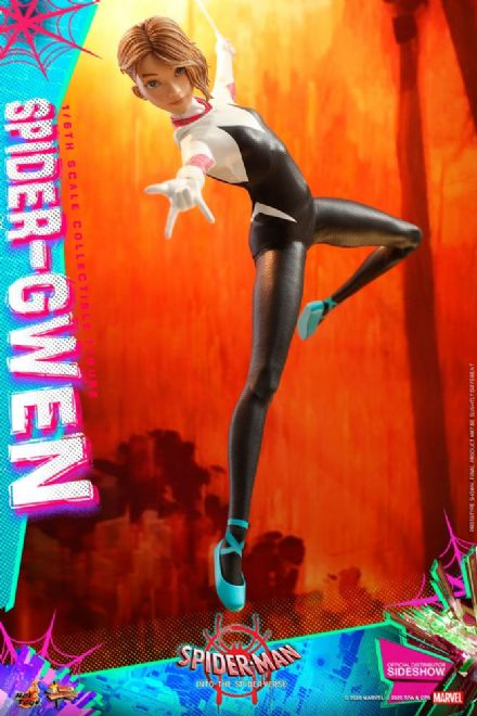 Hot Toys MMS576 Spider-Man: Into the Spider-Verse Spider-Gwen 1/6 Scale Figure